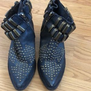 Jeffrey Campbell Buckle Slouch Bootie